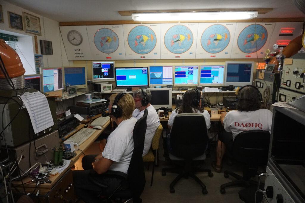 10m SSB und 40m SSB Stationen bei DA0HQ