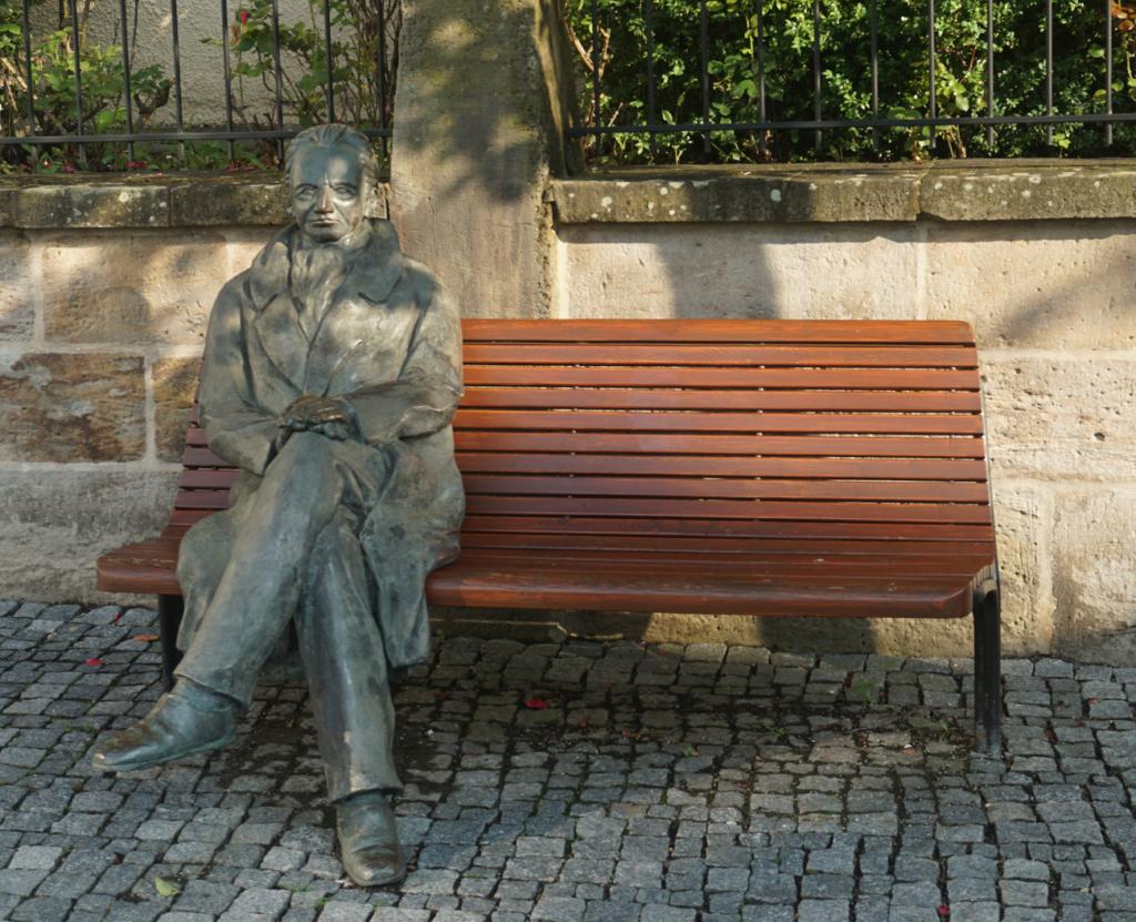 Ilmenau Goethedenkmal am Marktplatz