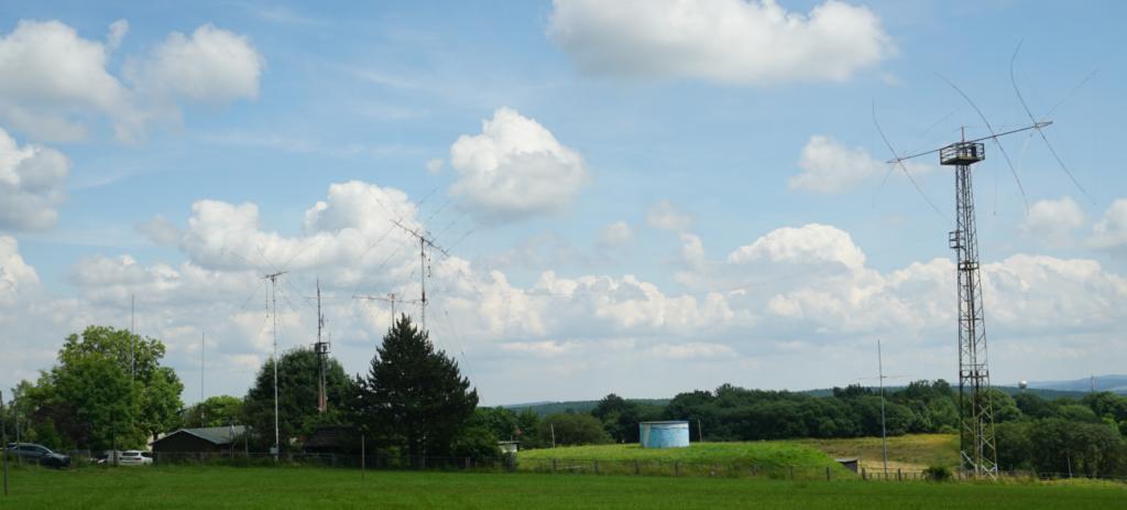 Antennefarm bei DF0HQ